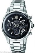 Casio Sheen SHE-5512D-1ADF Ladies Chronograph Stainless Steel Watch